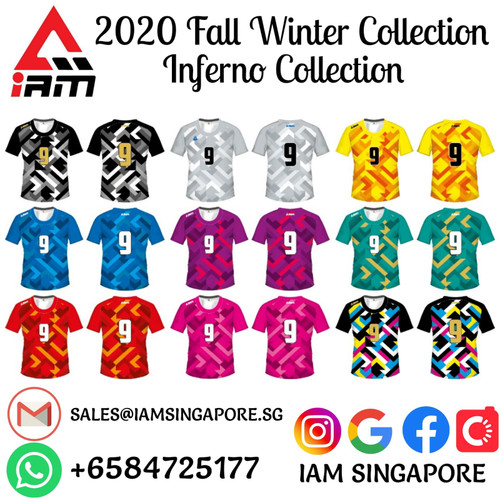 IAM Inferno Collection Team-wear