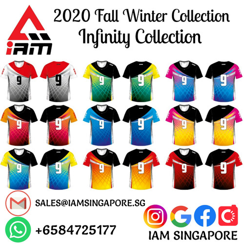 IAM Infinity Collection Team wear