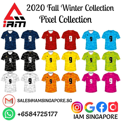 IAM Pixel Collection Team-Wear