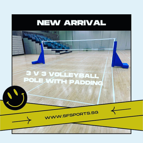 Offical SPSSC 3 vs 3 Volleyball Equipment