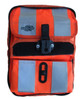 """8"""" Chest Pack Front Cover with Pockets in Orange Hi-Vis for Rugged Handsfree Chest Pack"""