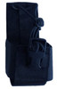 Radio Holster in Black for Rugged Handsfree Chest Pack