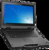 """Emdoor X14U 14"""" Rugged Laptop Close Up Center Left View"""