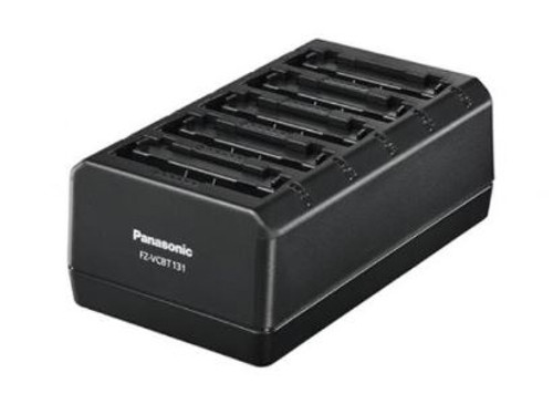 Panasonic 5-Bay Battery Charger for FZ-T1, FZ-L1, FZ-A3