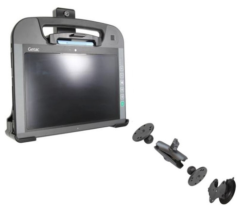 Getac RX10 Cradle and Windscreen Mount