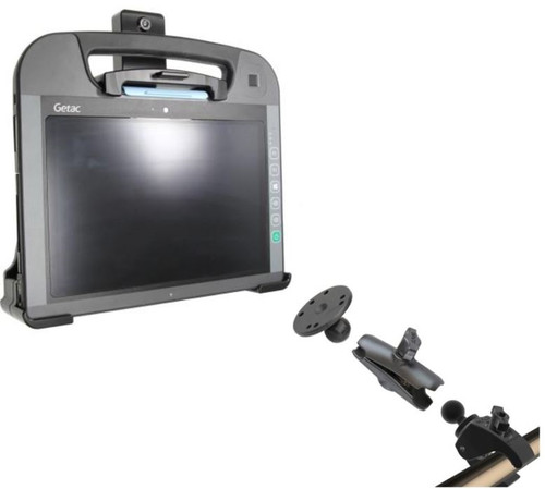 Getac RX10 Pole Mount and Cradle Solution