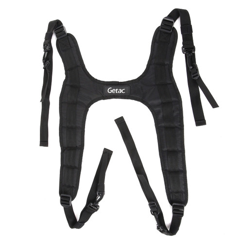 Getac F110 and K120 Shoulder Harness (4-point, Hands Free) Front View