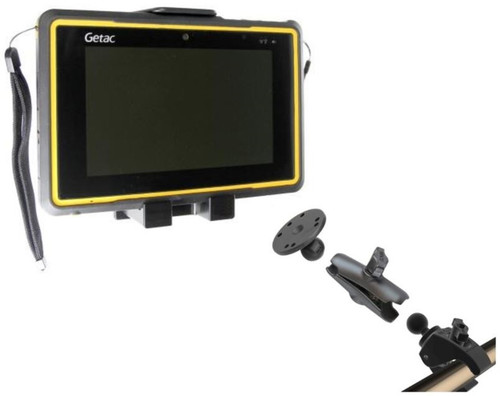 Getac ZX70 Pole Mount and Cradle Solution