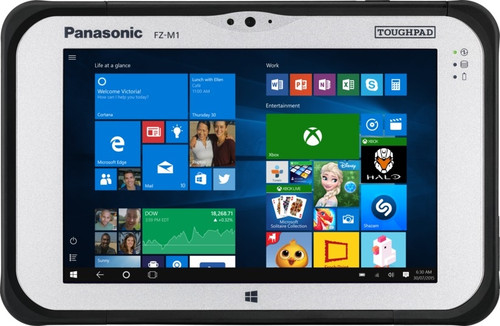 "Panasonic Toughpad FZ-M1 MK2 7.0"" Fully Rugged Tablet with Real Sense and Thermal Camera"