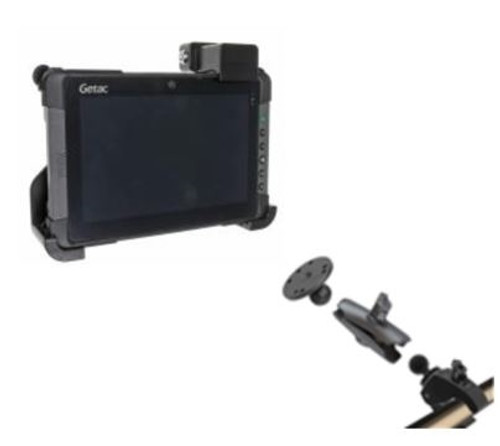Getac T800 Pole Mount and Cradle Solution