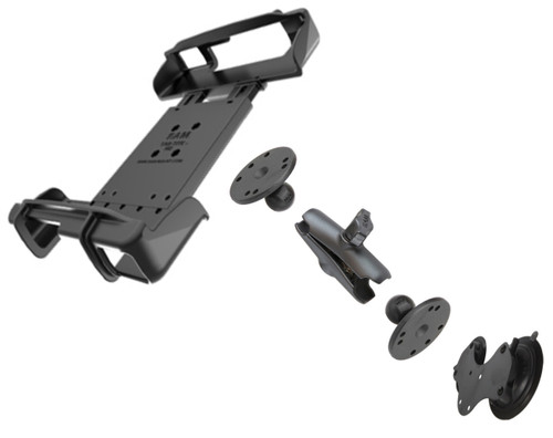Double Suction Cups Mount and Cradle Solution for Toughbook FZ-G1