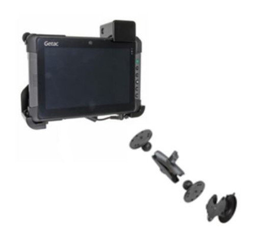 Getac T800 Windscreen Mount and Cradle Solution