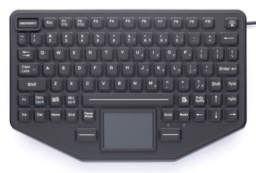 iKey SL-86-911-TP Mountable Keyboard with Touchpad