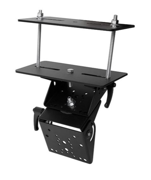 Gamber Johnson Forklift Short Overhead Guard Mount with Dual Clevis