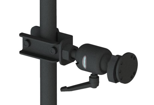 """Gamber Johnson Zirkona 3/4"""" to 1-7/8"""" Pole Mount with AMPs Quick Release Plate"""