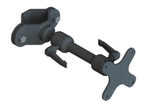 "Gamber Johnson Forklift (Zirkona) 2"" to 3"" Pole Mount with 6"" Medium Dog-Bone and VESA 75mm Plate"