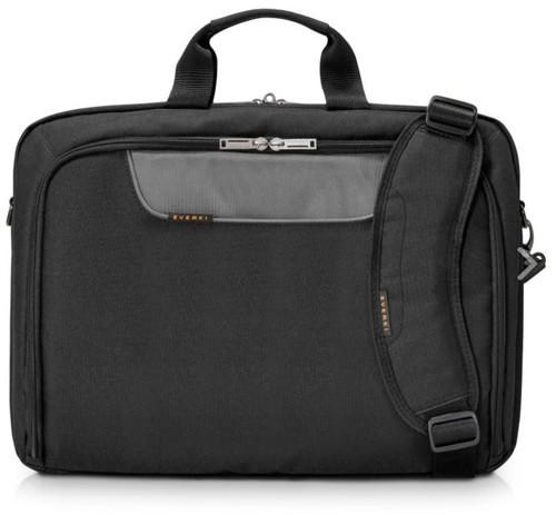 "Everki 18.4"" Advance Compact Briefcase (Laptop bag suitable for laptops upto 18.4"" laptops) Front View"