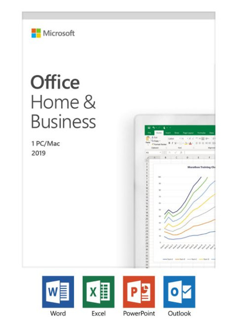 MS Office 2019 Home & Business Box View