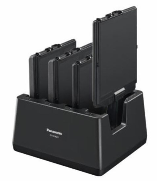 Panasonic 4-bay Battery Charger for Toughbook FZ-G2 Side View