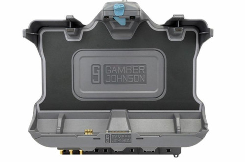 Gamber Johnson Vehicle Docking Station (Serial, TRI-RF) for Getac F110 G5 & G6 Front View