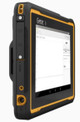 Getac ZX70 G2 Rugged Tablet Side View