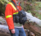 """10"""" Chest Pack Front Cover with Pockets in Black for Rugged Handsfree Chest Pack"""