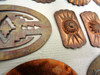 Southwestern Copper & Brass Jewelry Molds / Stamps
