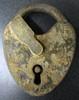Mallory-Wheeler Co. Padlock - NO Key