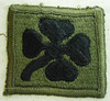 U.S. 4th Army Corps Subdued Patch