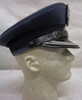 Polish Air Force Colonel's Visor cap w/Silver Bullion Eagle and Stars