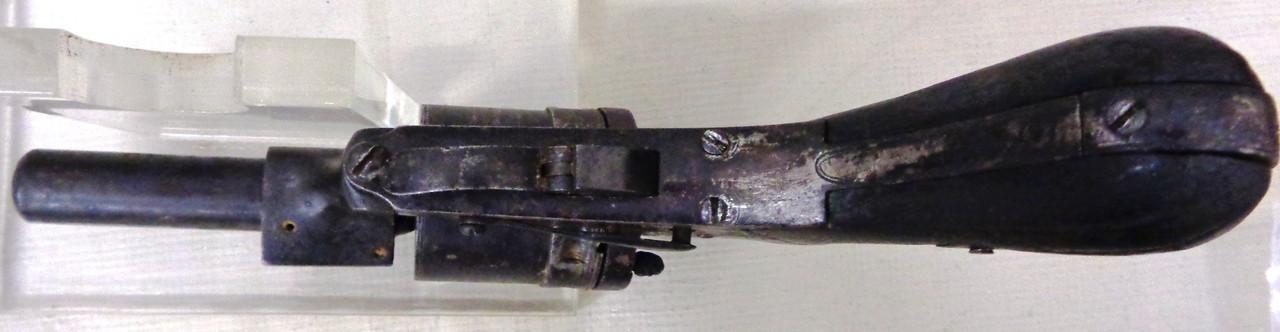 French Francotte Aliege 32 Rim Fire Revolver