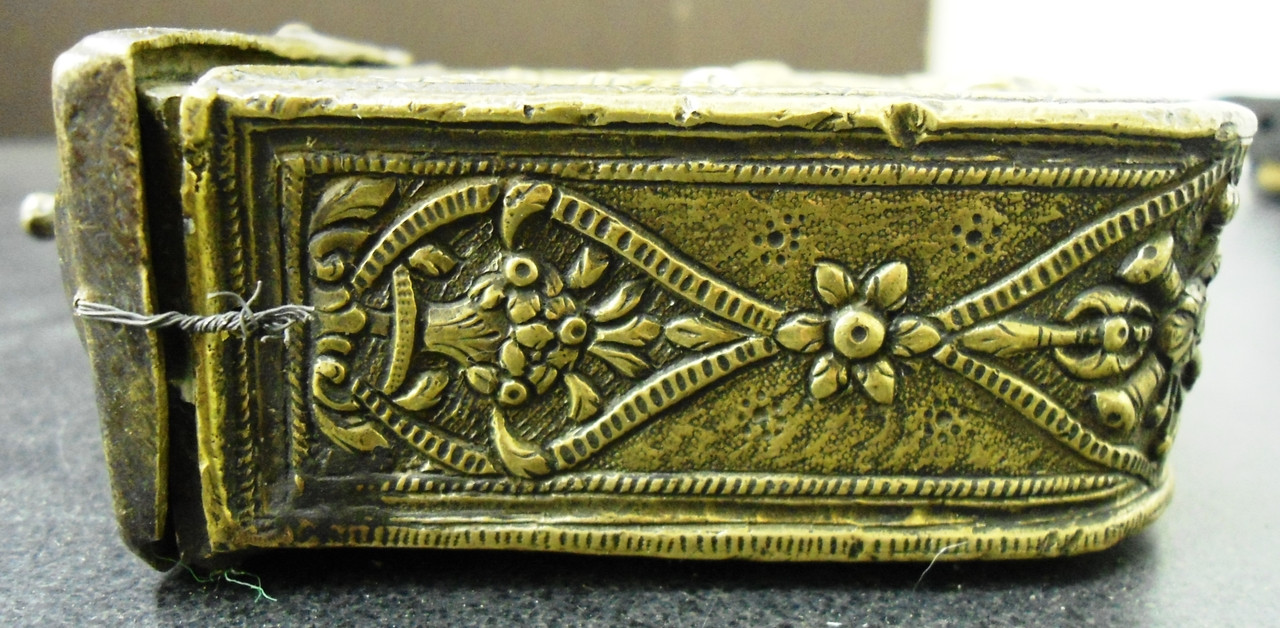 Russian Brass Cartridge Box 3