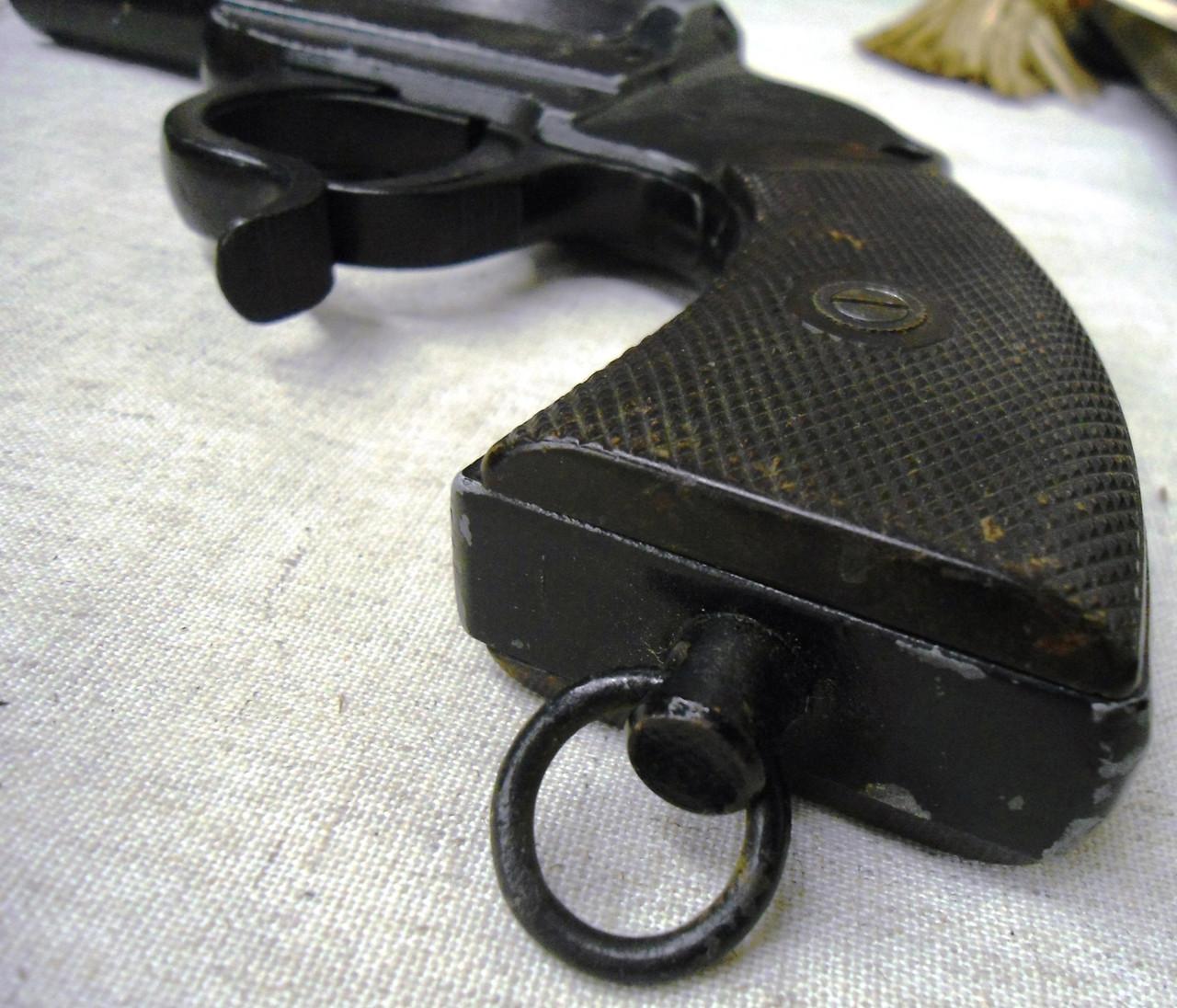 German WWII Erma Werk Nazi Marked Flare Pistol #1964