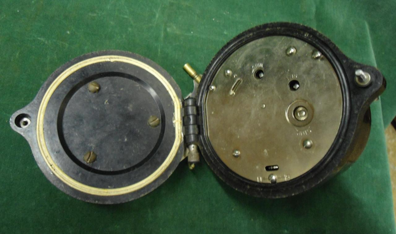 Seth Thomas U.S.N. WWII Mk 1 Boat Clock dated 1941 with Key