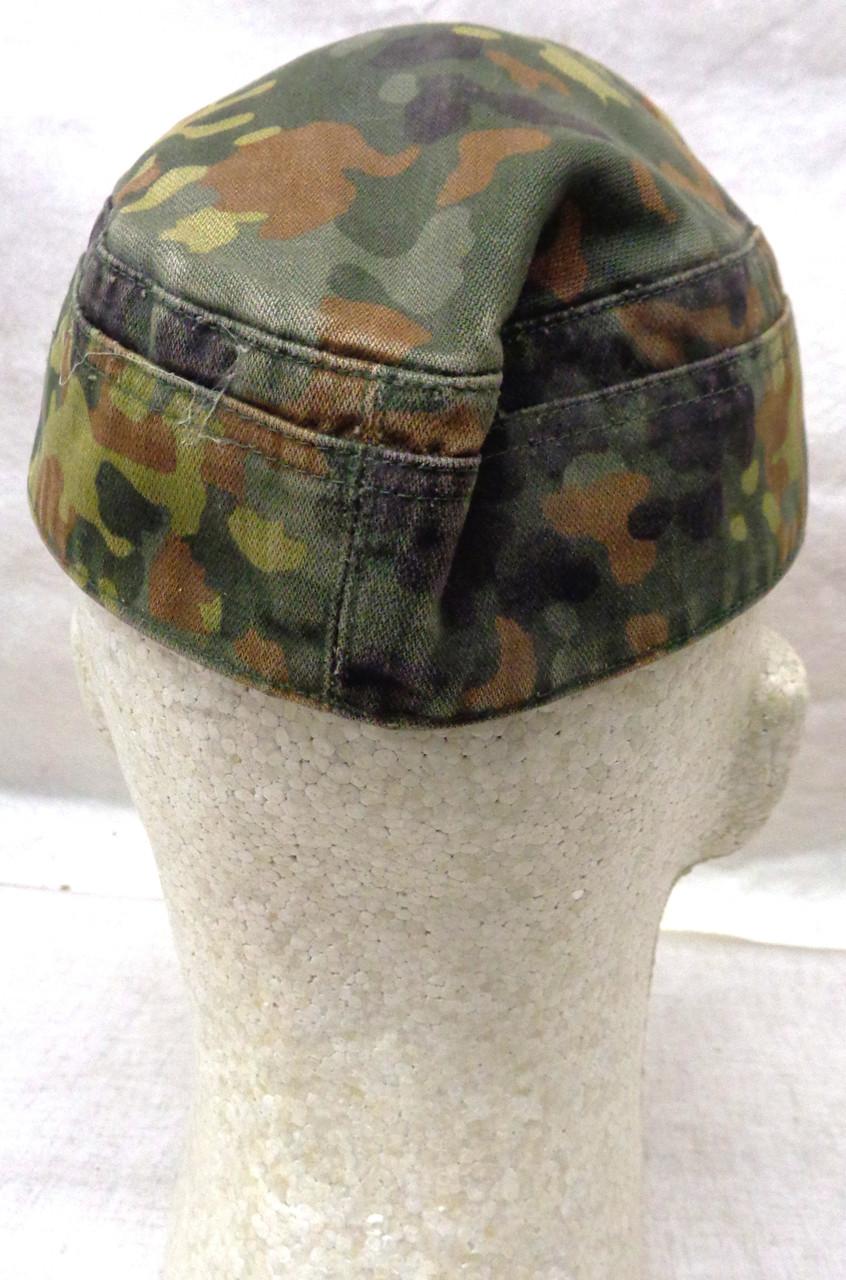 German Army Flekt-tarn Camo Cap with Cockade