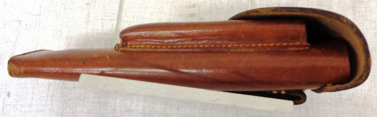 German WWII Nazi Marked Brown Leather Holster for Walther PPK
