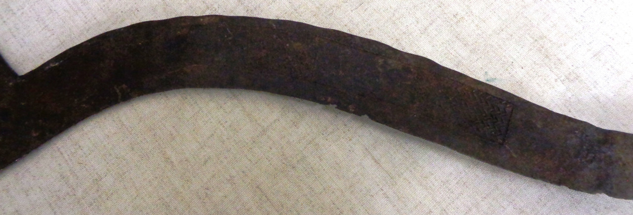 Central Africa Throwing Knife with Wood Grip