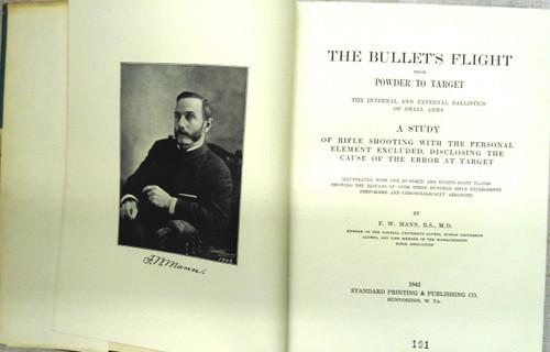 The Bullet's Flight by Franklin W. Mann