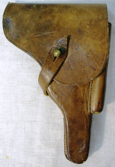 Bulgarian Luger Holster w/Fake SS Stamp