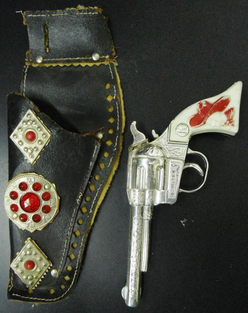 Kilgore Ranger Cap Gun circa 1950's w/Holster