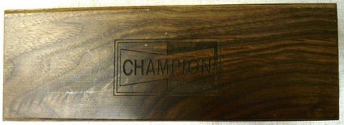Champion Spark Plug Limited Edition Knife w/Box & COA