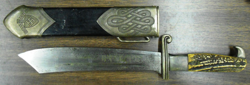 German WWII Labor Service Enlisted Man's Dagger