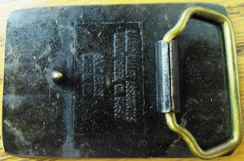 Buehler Scopes Brass Belt Buckle