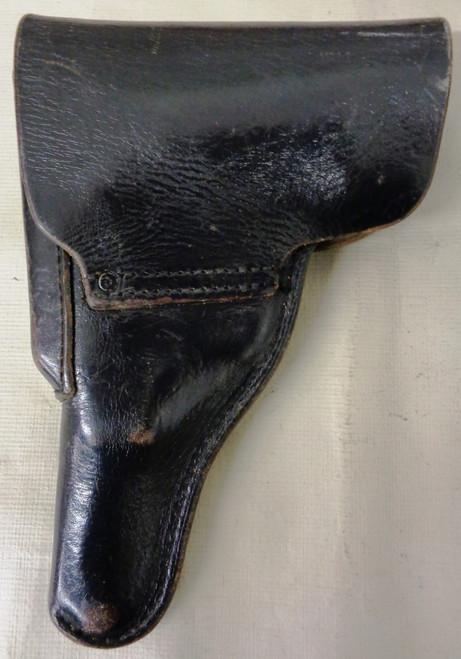 German Police Black Leather P1 Holster circa 1980's