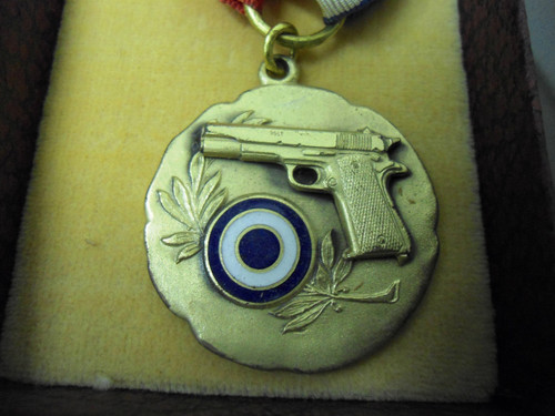 El Paso Pistol Club 19?? Winner Slow Fire Medal w/Box