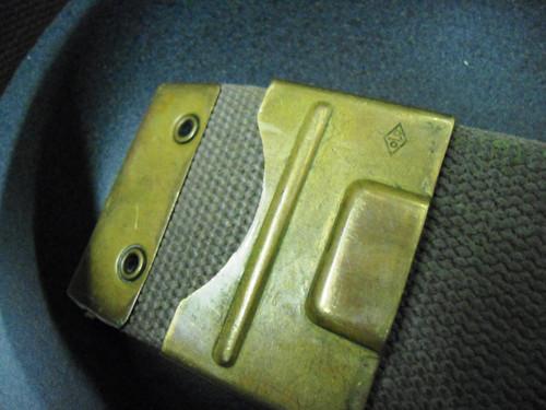 German Bundeswehr Fighting Knife belt buckle