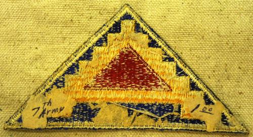 U.S. 7th Army Patch