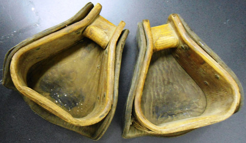 U.S. WWI Hooded Stirrups - Pair