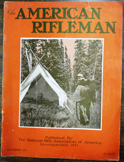 The American Rifleman - November 1931