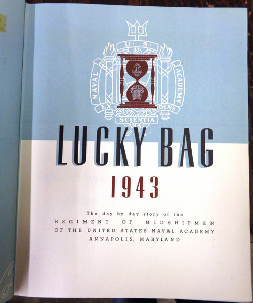 U.S. Naval Academy 1943 Year Book - Lucky Bag